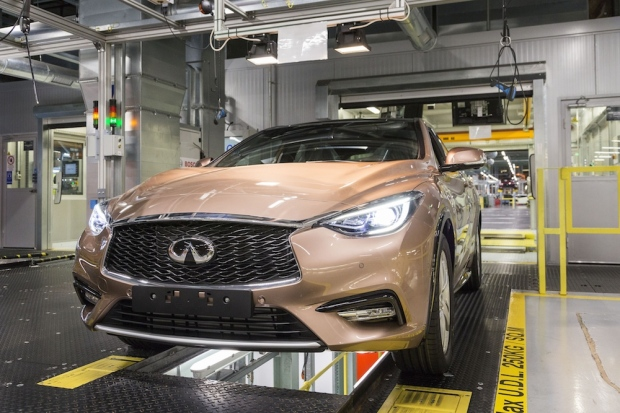 Friday Photo – Infiniti Q30 rolls out in Sunderland