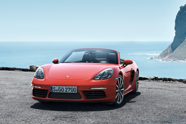 2016 718 Boxster S