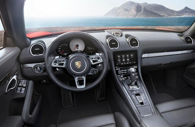 2016 718 Boxster S Interior