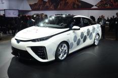 2016 Toyota Kymeta Mirai