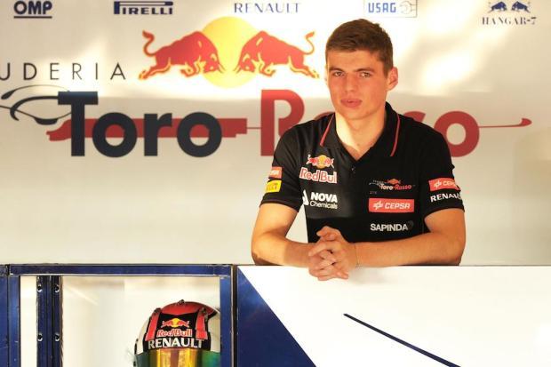 Max Verstappen 2015