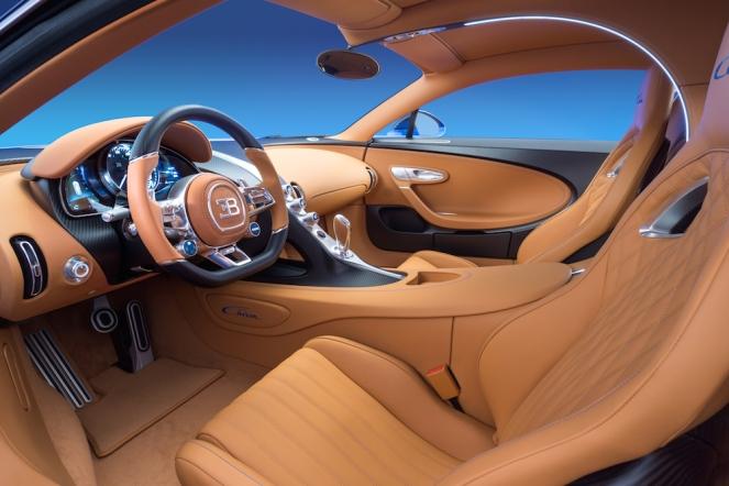 2016 Bugatti Chiron Interior