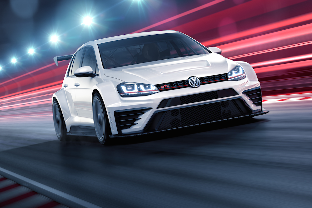 2016 VW Golf GTI TCR