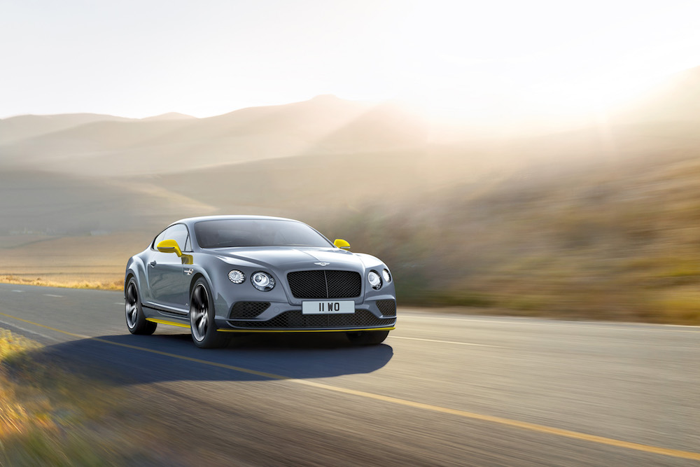 2016 Bentley Continental GT Speed Black Edition Coupe 001