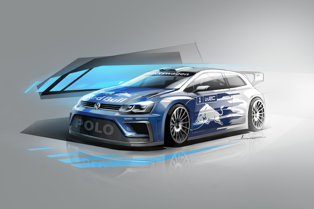 2017 Volkswagen Polo R WRC Concept