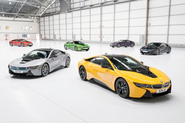 News – Individual Paint Colours for BMW i8
