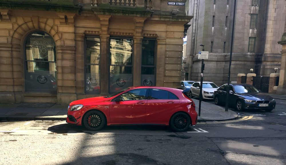 2016 Mercedes-AMG A45 Review 010