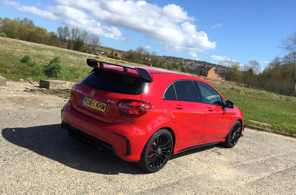 2016 Mercedes-AMG A45 Review