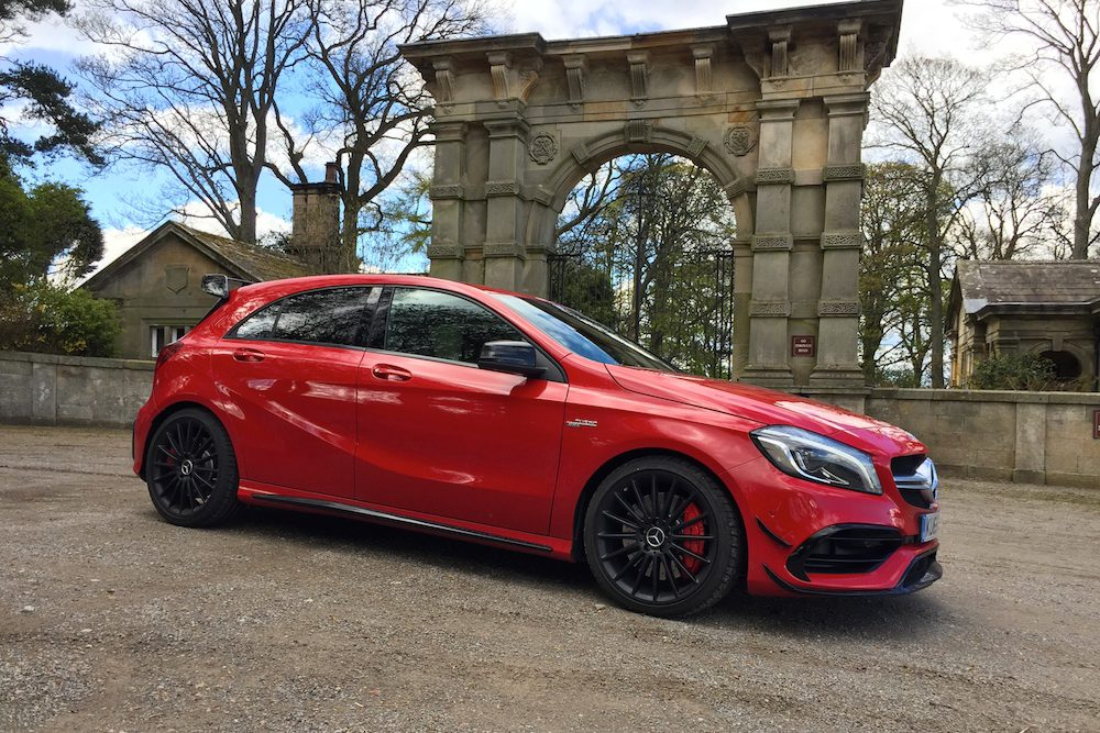 2016 mercedes amg a45 4matic review engagesportmode. Black Bedroom Furniture Sets. Home Design Ideas
