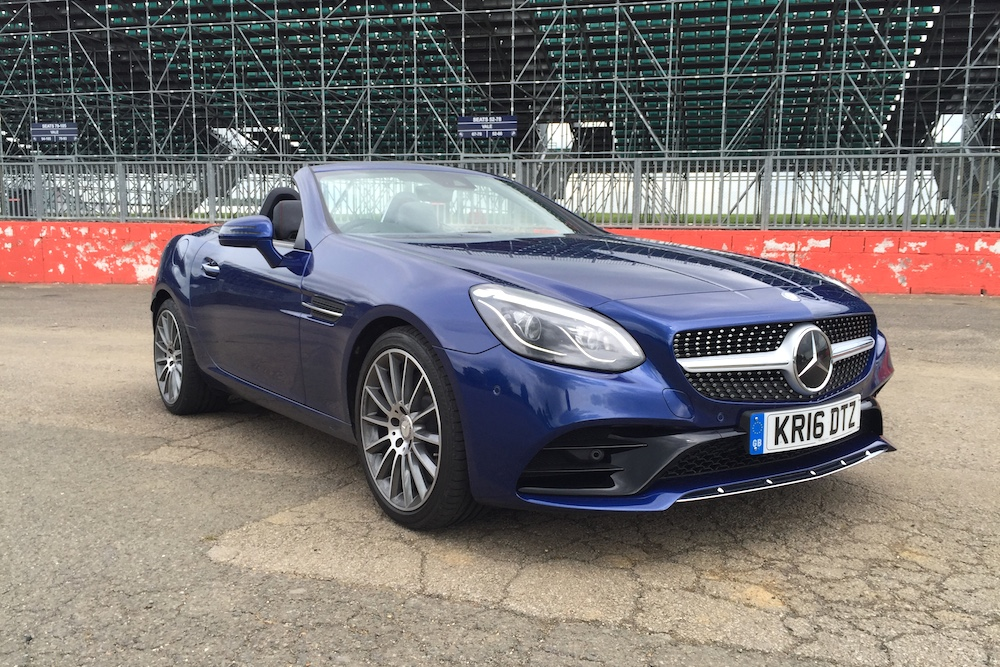 2016 Mercedes-Benz SLC 300