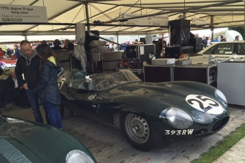 2016 Goodwood FoS Jaguar D-Type Long Nose