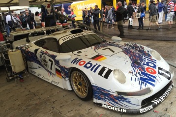 2016 Goodwood FoS 1996 Porsche 911 GT1-96
