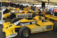 2016 Goodwood FoS Renault F1