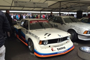 2016 Goodwood FoS 1977 BMW 320i