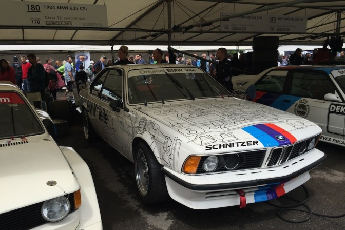 2016 Goodwood FoS BMW 635CSI