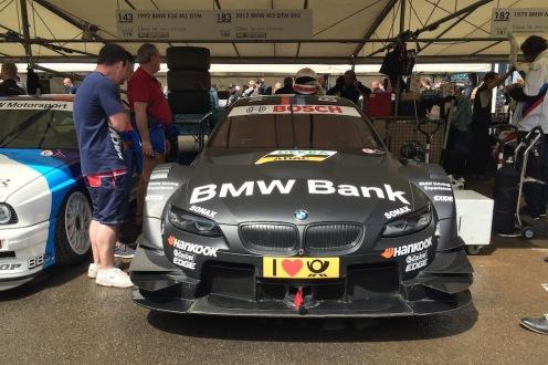2016 Goodwood FoS 2012 BMW M3 E92 DTM