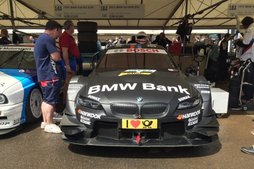 2016 Goodwood FoS 2012 BMW M3 E92 DTM