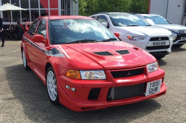 Mitsubishi Lancer Evolution VI Mäkinen