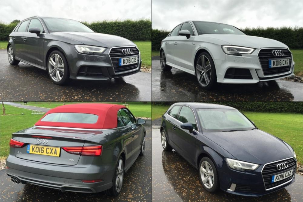 2016 Audi A3 Launch