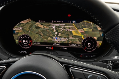2016 Audi A3 Launch Virtual Cockpit