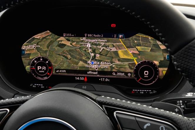 2016 Audi A3 Launch Virtual Cockpit