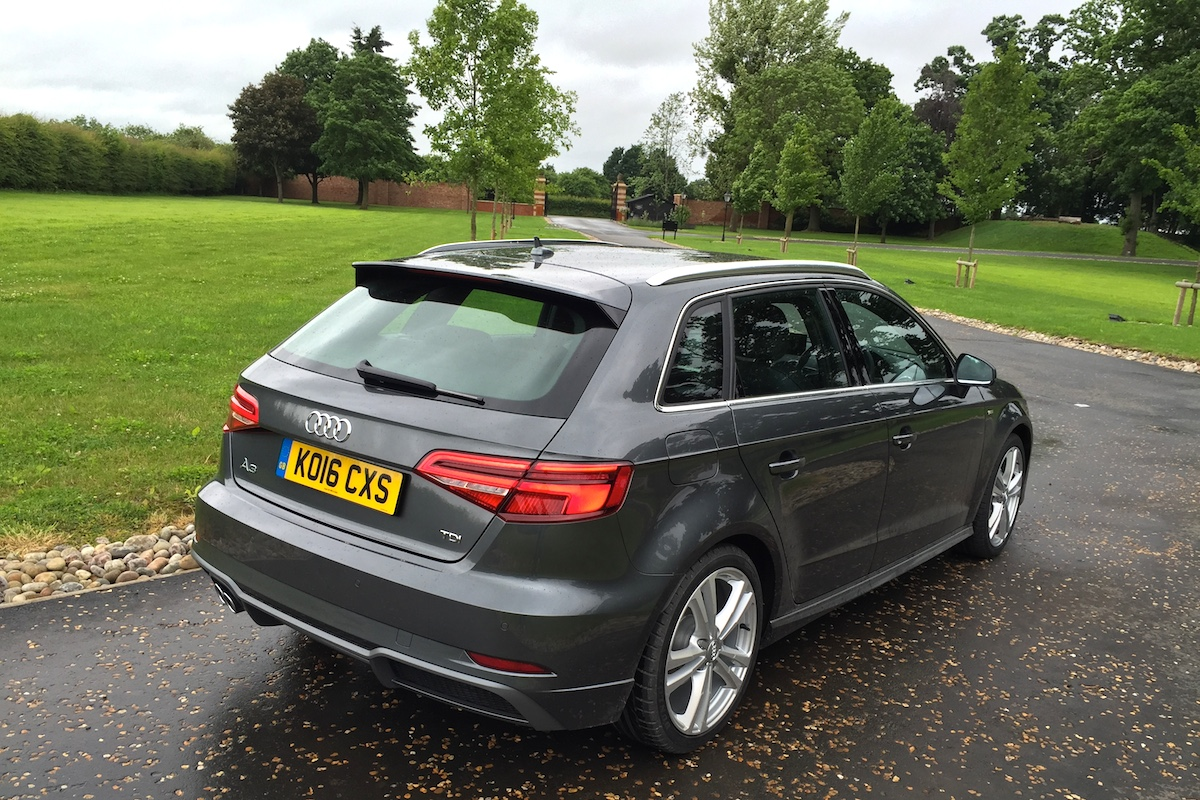 Audi A3 2016 Daytona Grey