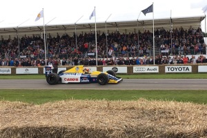 2016 Goodwood FoS 1990 Williams-Renault F13WB