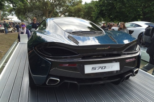 2016 Goodwood FoS McLaren 570GT