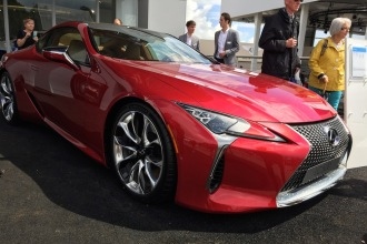 2016 Goodwood FoS Lexus LC500