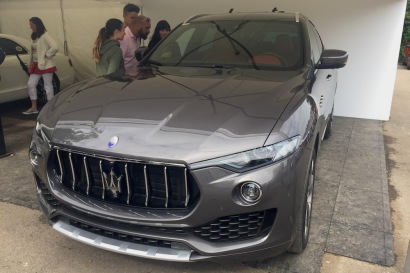 2016 Goodwood FoS Maserati Levante