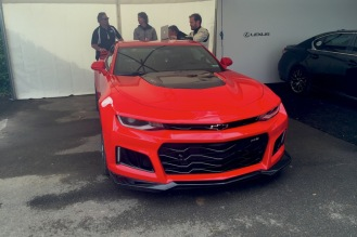 2016 Goodwood FoS 2017 Chevrolet Camaro ZL1