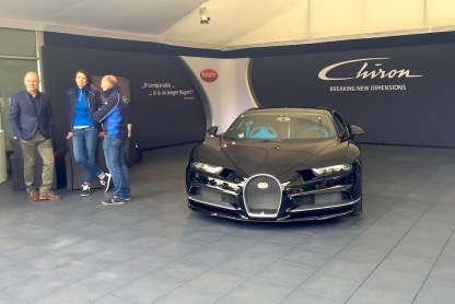 2016 Goodwood FoS Bugatti Chiron