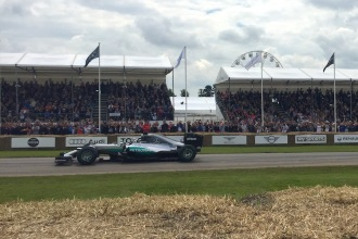 2016 Goodwood FoS Mercedes-Benz F1 W05 Hybrid