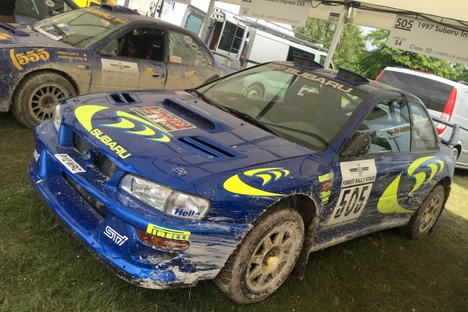 2016 Goodwood FoS 1997 Subaru Impreza WRC