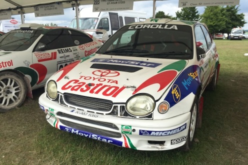 2016 Goodwood FoS 1999 Toyota Corolla WRC