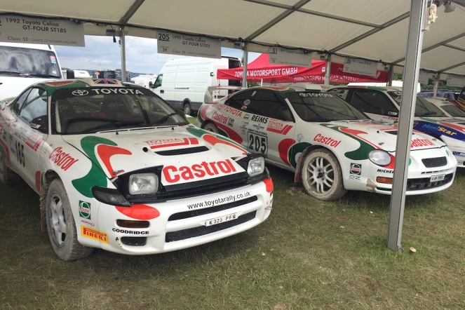 2016 Goodwood FoS 1992 ST185 Toyota Celica GT-Four
