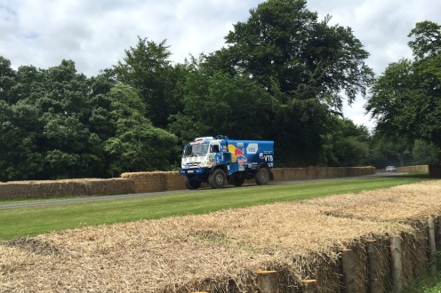 2016 Goodwood FoS Kamaz T4 Dakar Truck