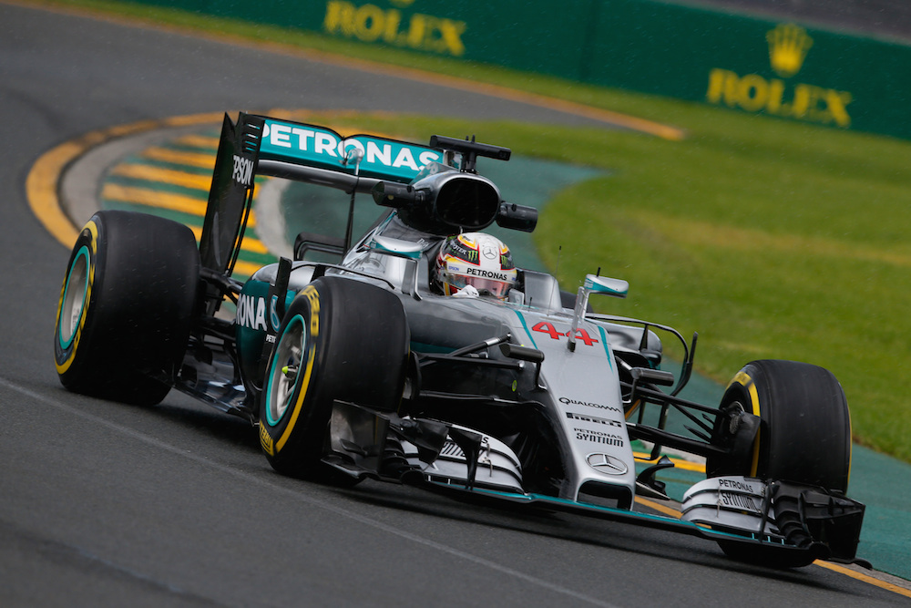 2016 Mercedes AMG F1 Hamilton