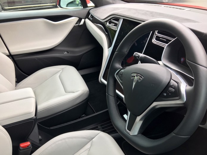 2016 Tesla Model S 90d Interior 001