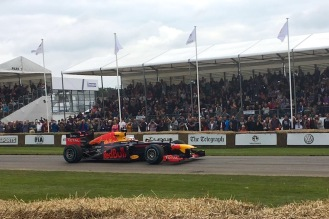 2016 Goodwood FoS 2012 Red Bull-Renault RB8