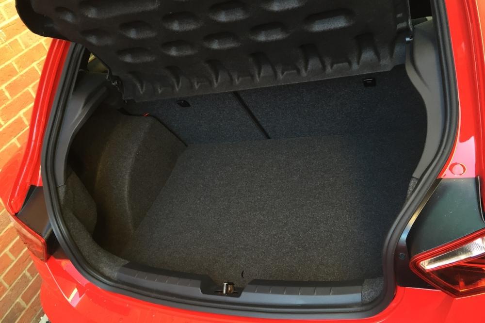 2016 SEAT Ibiza Cupra Black Boot