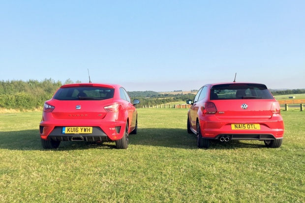 SEAT Ibiza Cupra vs VW Polo GTI