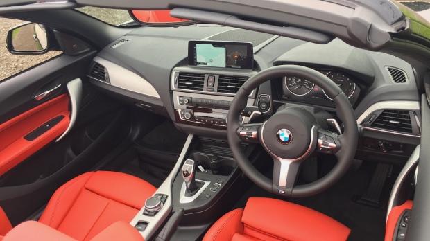 2016 BMW M240i Convertible Interior