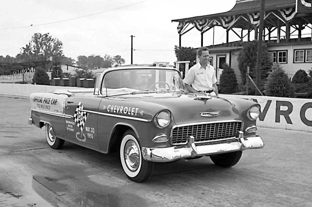 1955 Chevrolet Bel Air Convertible Indianapolis 500 Pace Car (C) Chevrolet