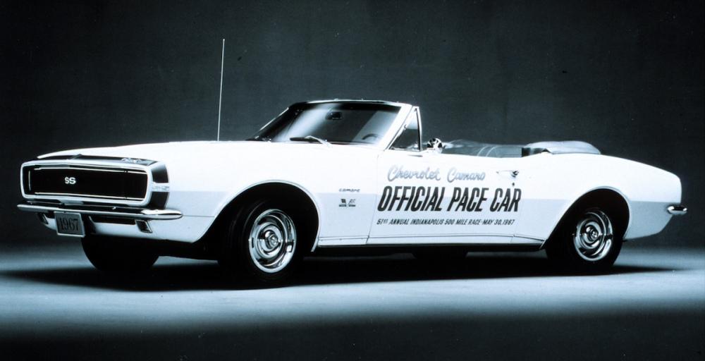 1967 Chevrolet Camaro Indy 500 Pace Car (C) Chevrolet