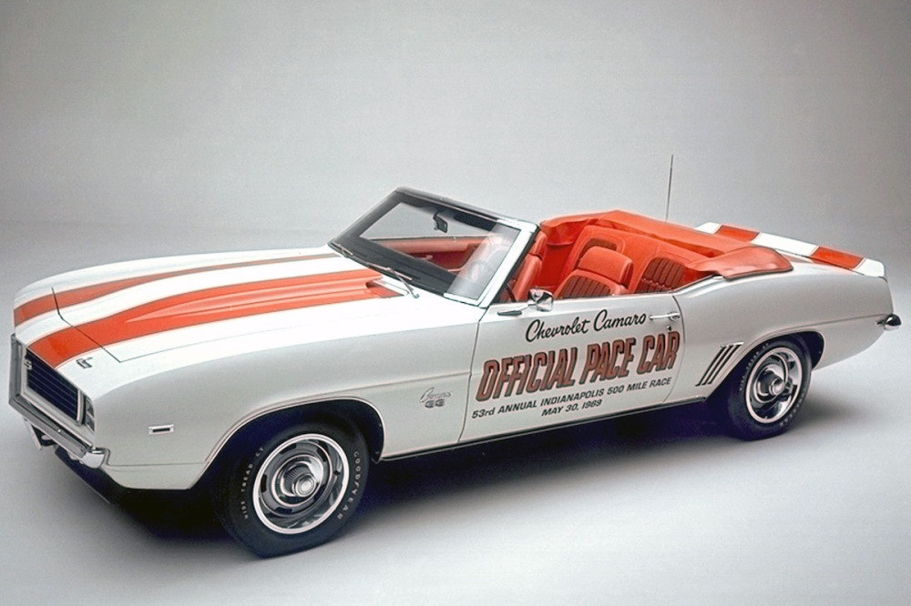 1969 Chevrolet Camaro Indy 500 Pace Car (C) Chevrolet