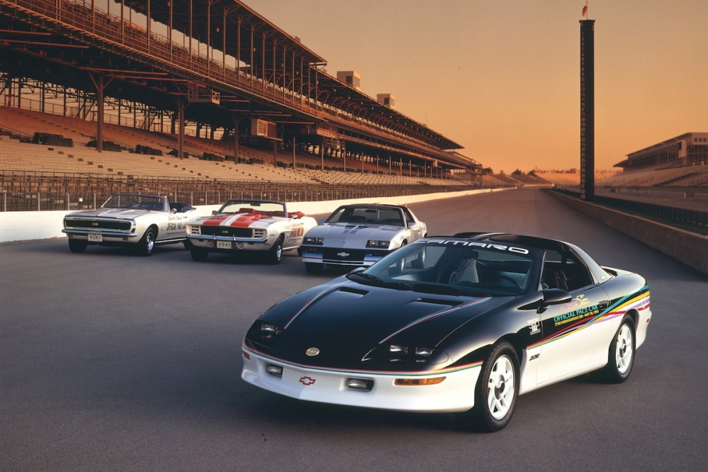 1993 Chevrolet Camaro Z28 Indy 500 Pace Car (C) Chevrolet
