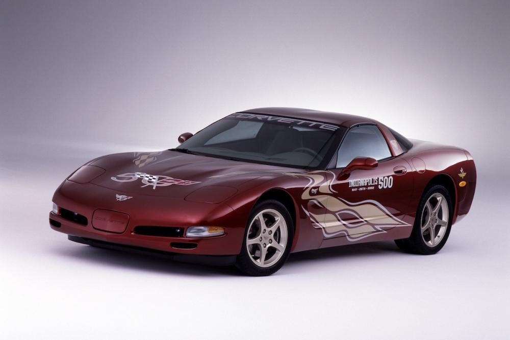 2002 Chevrolet C5 Corvette 50th Anniversary Indy 500 Pace Car (C) Chevrolet