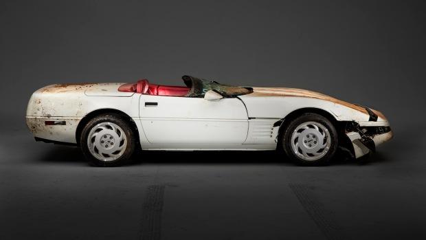 The 1 millionth Corvette