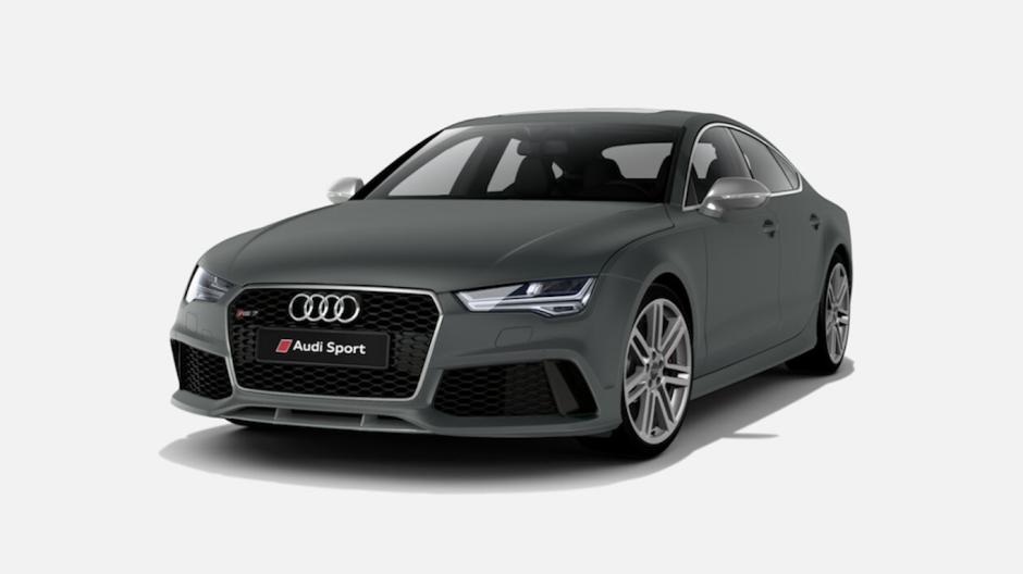 Audi Daytona Grey Matt